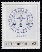 ÖSTERREICH 2016 ** Astrologie - WAAGE Sternzeichen - PM Personalized Stamp MNH - Astrologie