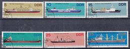 DDR - Michel - 1982 - Nr 2709/14 - Gest/Obl/Us - Usati