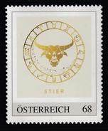 ÖSTERREICH 2016 ** Astrologie - STIER Sternzeichen - PM Personalized Stamp MNH - Astrologie