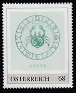 ÖSTERREICH 2016 ** Astrologie - KREBS Sternzeichen - PM Personalized Stamp MNH - Astrologie