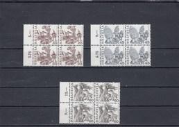 Suisse - Neuf** - Série Courante - Année 1984 - YT 1209/11 - Blocs De 4