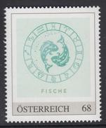 ÖSTERREICH 2016 ** Astrologie - FISCHE Sternzeichen - PM Personalized Stamp MNH - Astrologie