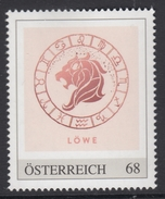 ÖSTERREICH 2016 ** Astrologie - LÖWE, Lion Sternzeichen - PM Personalized Stamp MNH - Astrologie