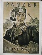 Poster Geurre Weltkrieg 1940 - 45 World War II Wereldoorlog II Format 23 Cm X 30 Cm. - Affiches