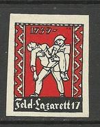 SCHWEIZ 1939 Militärmarke Feld - Lazarett *