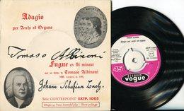 """Tomaso Albinoni""""EP""""Adagio Per Archi Ed Organo"""" - Classical"""