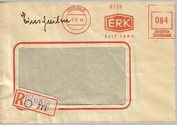 SBZ 1946 R-Brief Mit MaWSt. Firma ERK Ab Ruhla  [h248]