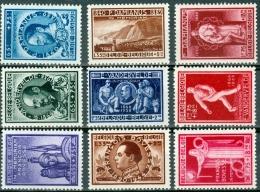 N° 728-736 XX  - 1946 - Belgium