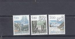 Suisse - Neuf** - Série Courante - Année 1983 - YT 1171/73