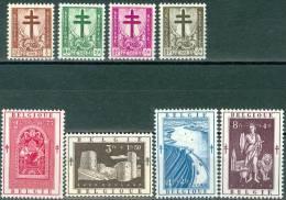 N° 900-907 XX- 1952 - Belgium