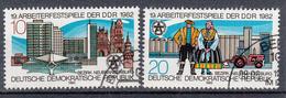 DDR - Michel - 1982 - Nr 2706/07 - Gest/Obl/Us - Usati