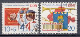 DDR - Michel - 1982 - Nr 2724/25 - Gest/Obl/Us - Usati