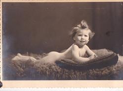 26032 Attention Photo -enfant  Bébé Baby Tout Nu ! Coussin - Belgique