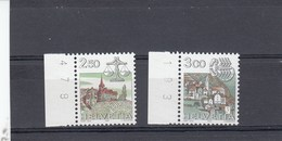Suisse - Neuf** - Série Courante - Année 1985 - YT 1217/18