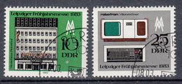 DDR - Michel - 1983 - Nr 2779/80 - Gest/Obl/Us - Usati