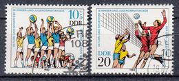 DDR - Michel - 1983 - Nr 2814/15 - Gest/Obl/Us - Usati