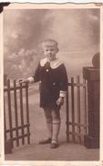26036  Carte Photo -enfant  Costume -  Belgique - Portraits