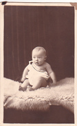 26037  Carte Photo - Bebe Baby - Enfant  -  Belgique