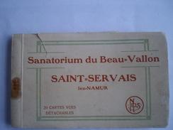 Saint - Servais Lez Namur : Sanatorium Du Beau Vallon - Carnet De 20 Cartes (RARE) Not Complete Only 16 Cartes 19?? - Namen