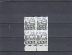 Suisse - Neuf** - Série Courante - Année 1986 - YT 1242 - Bloc De 4
