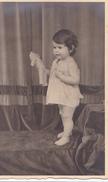 26039 Carte Photo - Bebe Baby - Enfant  - Ours Peluche Teddy Bear - Fillette Belgique - Portraits