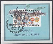 DDR - Michel - 1978 - BL 53 - Gest/Obl/Us