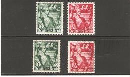 ALLEMAGNE  N°603/04   NEUF * Et Oblitere   DE1938