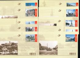 BELGIUM BELGIE BELGIQUE PPS EP VUE COB BK118/127 UNUSED - Entiers Postaux