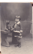 26041 Carte Photo - Bebe Baby - Enfant  - Ours Peluche Teddy Bear - Fillette -studion Monu Bruxelles  Belgique