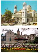 Cartolina NUOVA Con Veduta LIMASSOL  Veduta Cattedrale Santa NARA - Cartolina Viaggiata Con Veduta HAAPSALU ESTONIA - Cipro