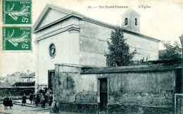 N°45873 -cpa Pré Saint Gervais -l'église- - Le Pre Saint Gervais