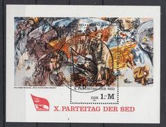 DDR - Michel - 1981 - BL 63 - Gest/Obl/Us