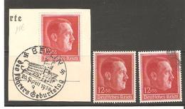 ALLEMAGNE  N°607/  NEUF **  Et Oblitere   DE1938
