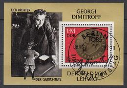 DDR - Michel - 1982 - BL 68 - Gest/Obl/Us
