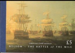 Gibraltar 1998 Nelson - The Battle  Of The Nile, Battle At Abukir  Mi Bloc 9 MNH(**)