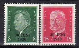 Deutsches Reich, 1930, Mi 444-445 ** [230217L]