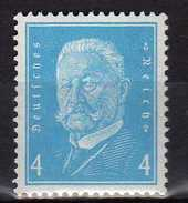Deutsches Reich, 1931, Mi 454 ** Ebert Und Hindenburg [230217L]