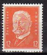 Deutsches Reich, 1932, Mi 466 ** Ebert Und Hindenburg [230217L]