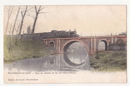 Marchienne-au-pont: Pont Du Chemin De Fer. (avec Train) - Charleroi