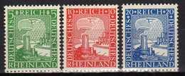 Deutsches Reich, 1925, Mi 372-374 ** [230217L]