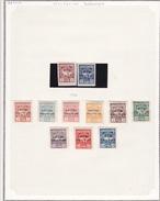 Russie Occupation Britanique - Collection Vendue Page Par Page - Timbres Oblitérés / Neufs */** - B/TB