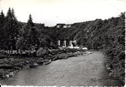 HOUFFALIZE - NADRIN (6660) : Nisramont - Le Herou - Le Barrage De L´Ourthe, Surmonté Par L'Hôtel Belvédère. CPSM.