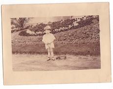 26049 Trois 3  Photo -fillette  Enfant Jouet  Belgique - - Personnes Anonymes