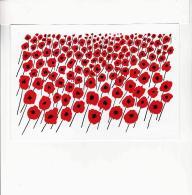 Postcard - Maverick Card By Alan Fletcher - Field Of Poppies - Gouch, Pen & Ink - Cartoline