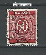 1946  N° 23   FILIGRANE G  OBLITERE   DESCRIPTION