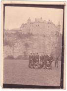 26055  Photo -chateau Groupe Hommes  -  Belgique - Sans Doute Vers 1910