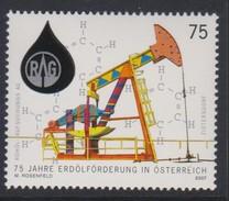 M 354) Österreich 2007 Mi# 2684 **: Erdöl Förderung Öl RAG, Pumpe Formel Chemie