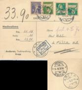 NN Karte  Brugg - Arosa  (Nicht Eingelöst)           1936