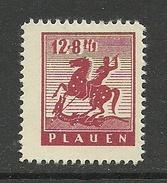 DEUTSCHLAND 1945/46 Lokalausgabe Plauen Michel 5 *