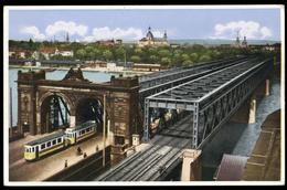 [027] Mannheim, Rheinbrücken, Eisenbahn-Brücke, ~1940, Verlag Maul (Ludwigshafen) - Mannheim